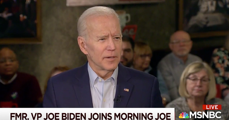 Delusional: Biden Claims 'We Could Run Mickey Mouse Against President and Have a Shot'