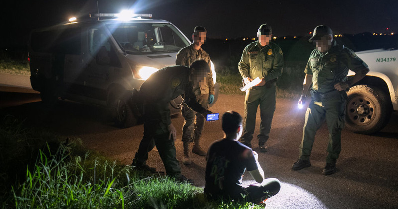 Report: Border Patrol Agents Provided Respirators to Deal with Chinese Immigrants Crossing from Mexico
