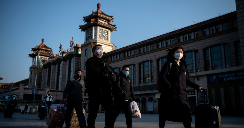 China Accuses US of Overreacting to Virus Outbreak