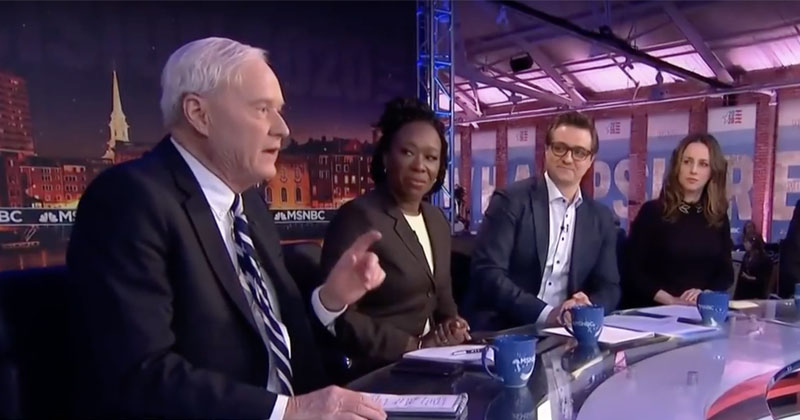 MSNBC's Chris Matthews Suggests Bernie Sanders Could Assassinate Political Opponents if President