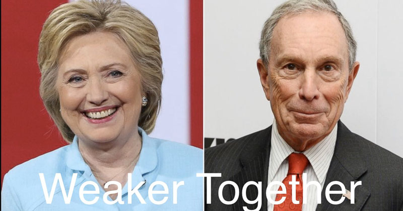 Internet Explodes With Memes Over Reports Bloomberg May Tap Hillary Clinton As Running Mate