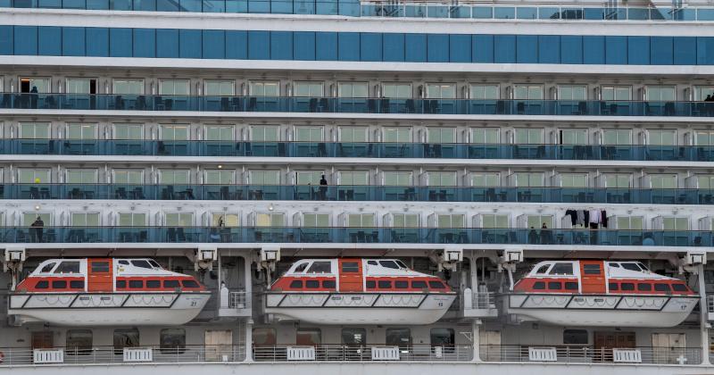 Coronavirus Infections TRIPLE on Cruise Liner Quarantined in Japan