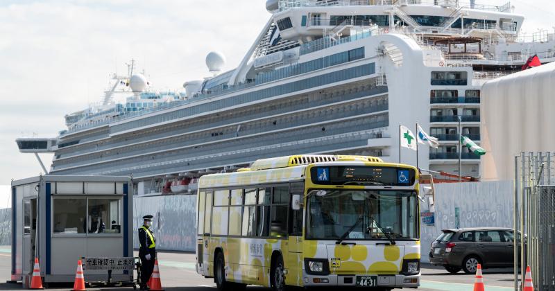 Quarantined Cruise Ship Passengers Disembark as Coronavirus Deaths Hit 2,000