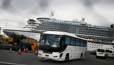 Cruise Ship Coronavirus Cases Spike 30%; First Death Recorded In Europe