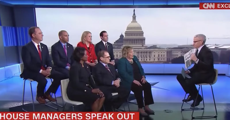 Dems In Denial: House Impeachment Managers Claim 'Trump Not Exonerated'