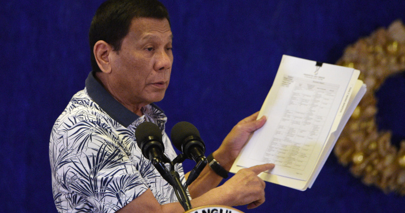 Philippines Ending Visting Forces Treaty With US
