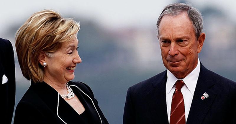 DrudgeReport: Bloomberg Considering Hillary Clinton As Running Mate