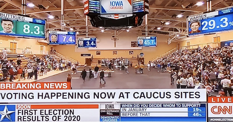 Conservatives Slam Iowa Dem Incompetence: 'Can't Run a Caucus But They Want To Take Over Healthcare'