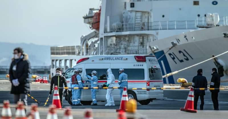 Ten More Diagnosed With Coronavirus Aboard Quarantined Cruise Ship Off Japan