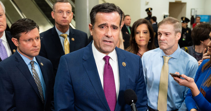 President Trump Again Nominates Texas Congressman John Ratcliffe for Director of National Intelligence