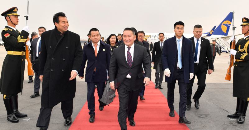 Mongolian President & Entire Delegation Quarantined After China Visit