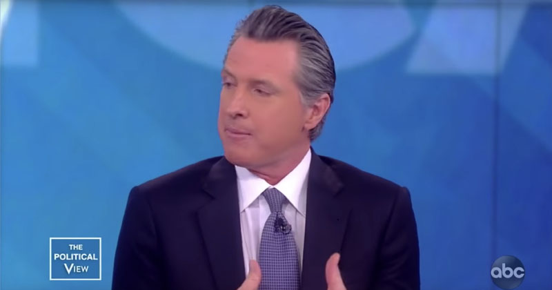 Panic: Newsom Says Dem Governors Have 'Deep Anxiety' About 2020 Candidates