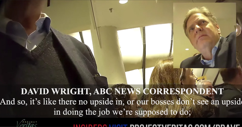 Project Veritas: ABC News' David Wright Identifies as 'a Socialist'