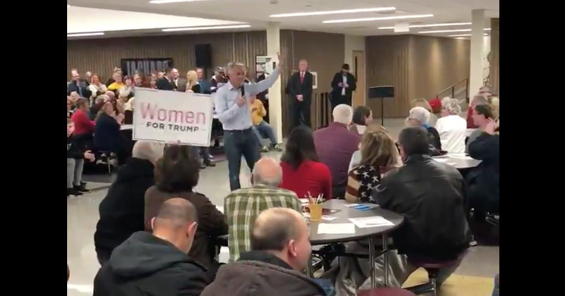 "Hilarious: Crowd Cheers As GOP Presidential Candidate Asks If They Want ""4 More Years of Trump"""