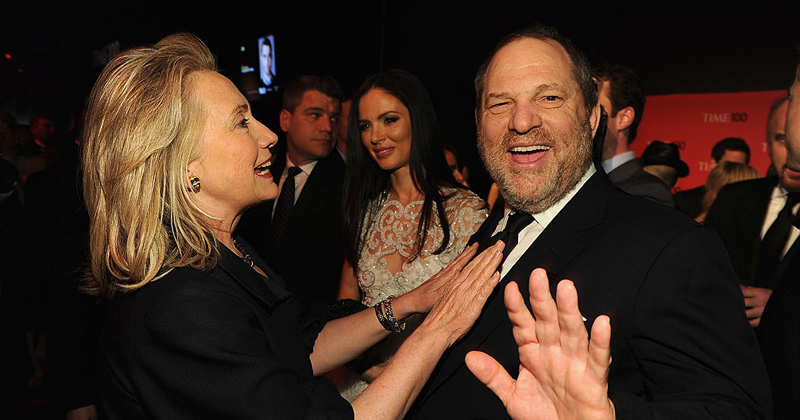 Trump Calls Out Dem Love Affair with Weinstein: 'Michelle loved him... Hillary loved him'
