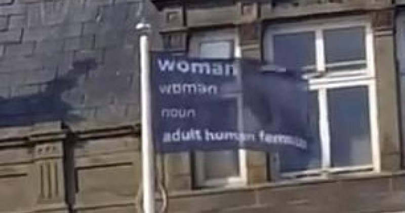 "UK: Council Removes ""Transphobic"" Flags Because They Displayed the Dictionary Definition of the Word 'Woman'"