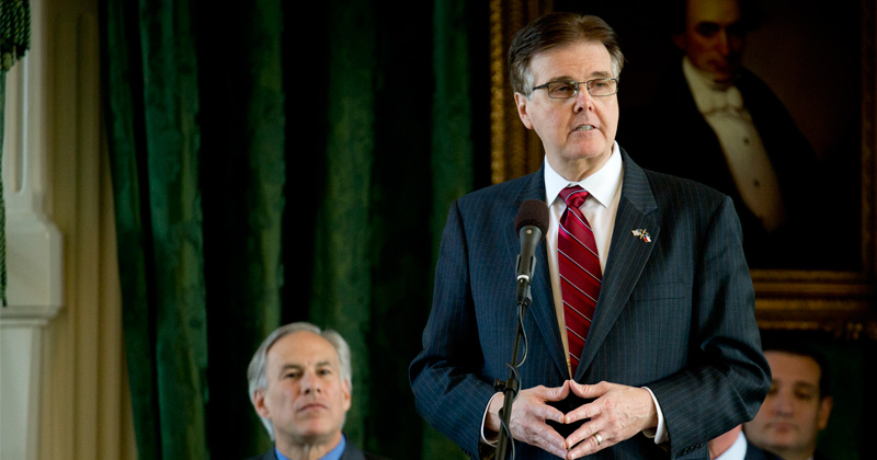"""Texas Lt. Gov: """"Lots of Grandparents"""" Willing to Risk Dying of Coronavirus to Save Economy"""