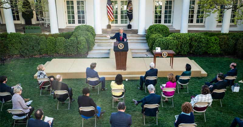Why Won't Trump Replace Reporters With Small Business Owners at WH Pressers?