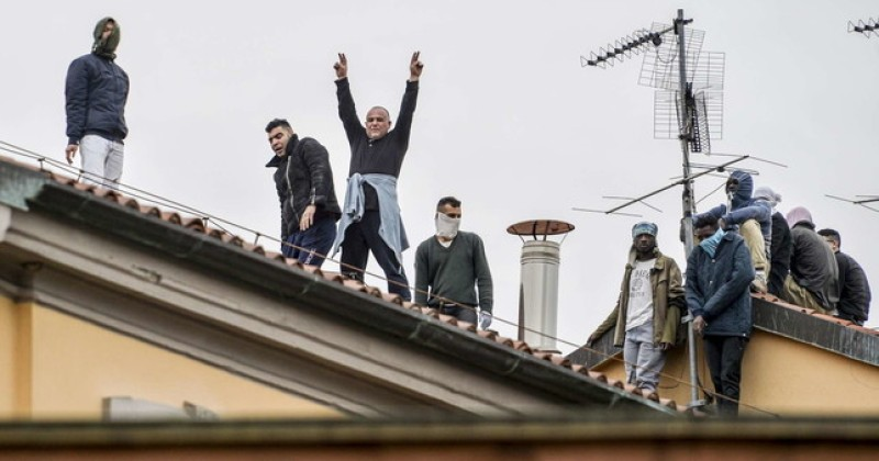 Coronavirus Riot: Inmates Break Out of Prison in Italy