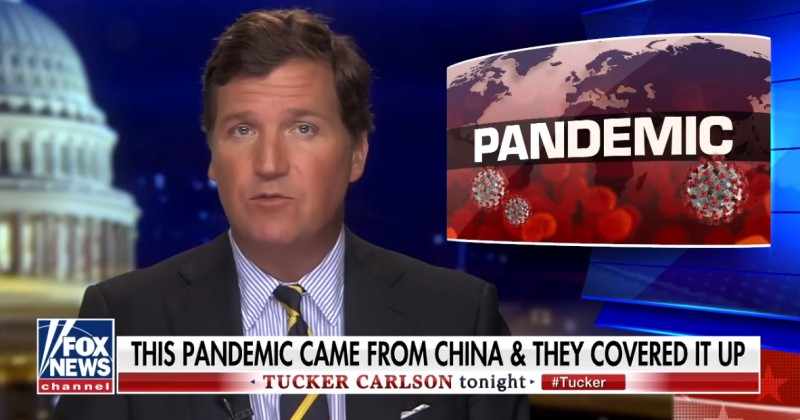 Tucker: The Media Has Sided With Communist China to Blame America For the Coronavirus
