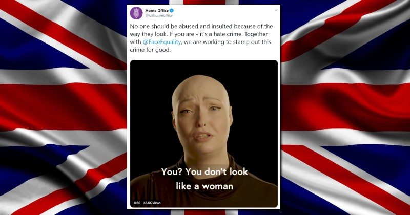 UK Government Says Insulting Someone's Appearance is Now a Hate Crime
