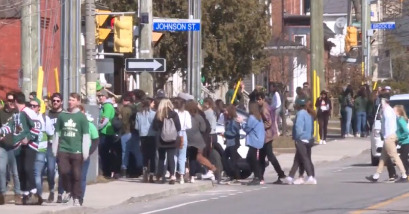 Canadian Students Gather at St. Patrick's Day Party, Laugh About Spreading Coronavirus