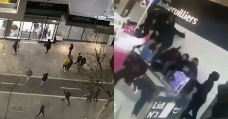 Videos Show Looting, Fights at Supermarkets in London & Paris