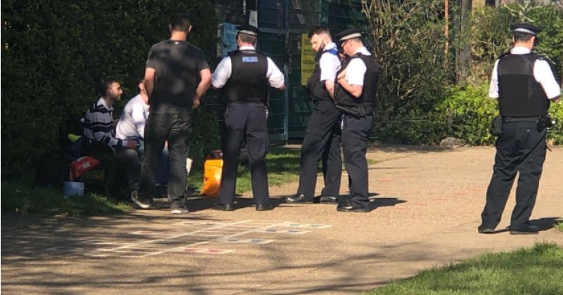 Day After UK Lockdown, Police Forced to Break Up BBQ Parties