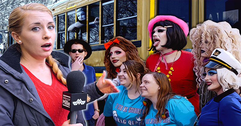 Story Hour Drag Queens Protest Against Parental Rights