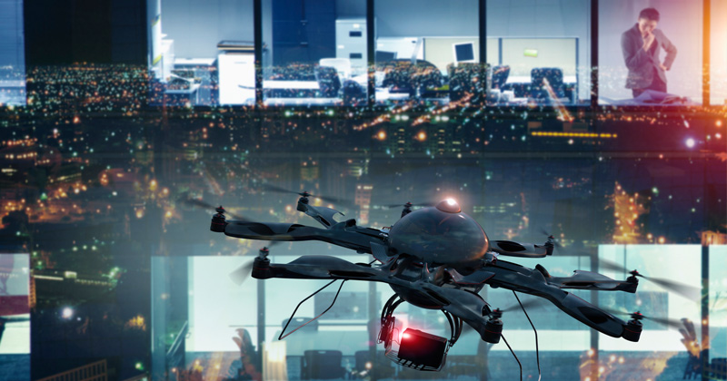 California Police To Use Chinese-Made Drones To Monitor Citizens During COVID-19 Lockdown