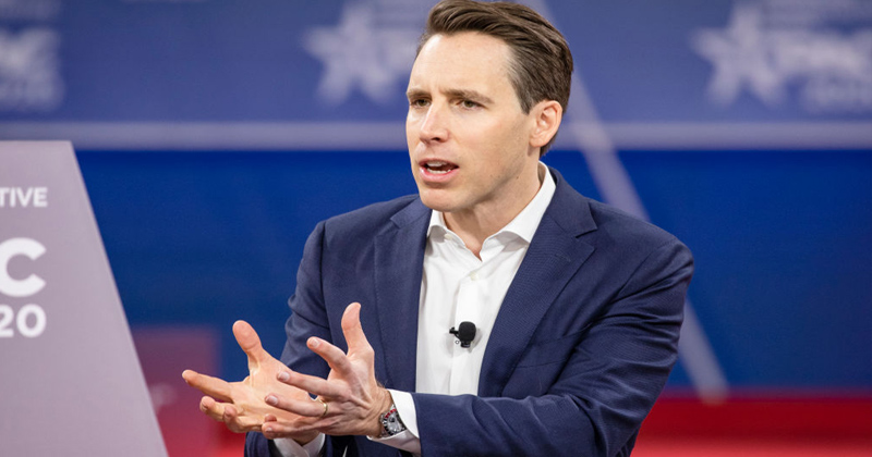 """""""There Needs To Be Consequences"""": GOP Sen. Hawley Calls Out WHO's ChiCom Ties"""