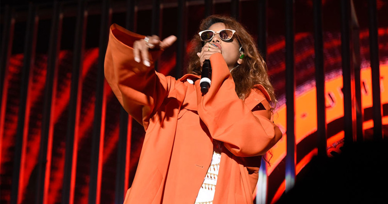 "Rapper M.I.A. - ""If I Have to Choose the Vaccine or Chip I'm Gonna Choose Death"""