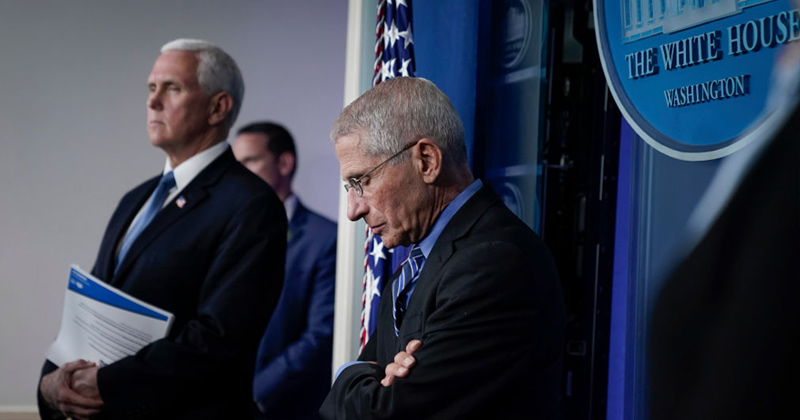 Dr. Fauci Concedes Coronavirus Death Rate Like 'Very Bad Flu'