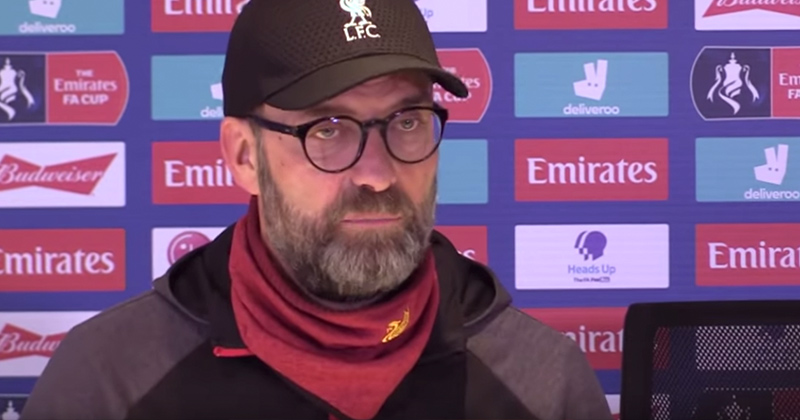 Watch: Liverpool Soccer Manager's Epic Response To Coronavirus Question