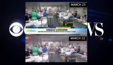 "CBS News Uses Footage of ""Worst Hit"" Hospital in Italy While Describing New York Coronavirus Outbreak"