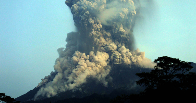 Watch: Indonesia's Most Active Volcano Erupts, Spews Massive Ash Cloud