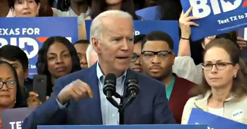VIDEO: Biden Can't Remember the Word 'Creator,' Refers to God as 'The Thing'