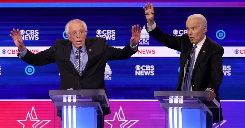 Biden's Latest Primary Wins Dash Sanders' Presidential Hopes