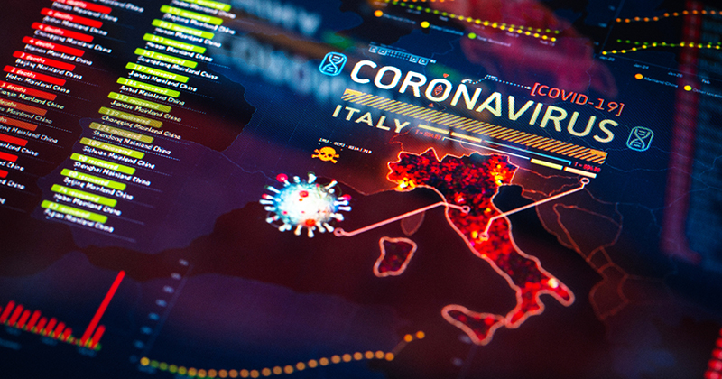 Italy: New cases of COVID-19 down to 6.9%, the slowest daily rate of increase since lockdown