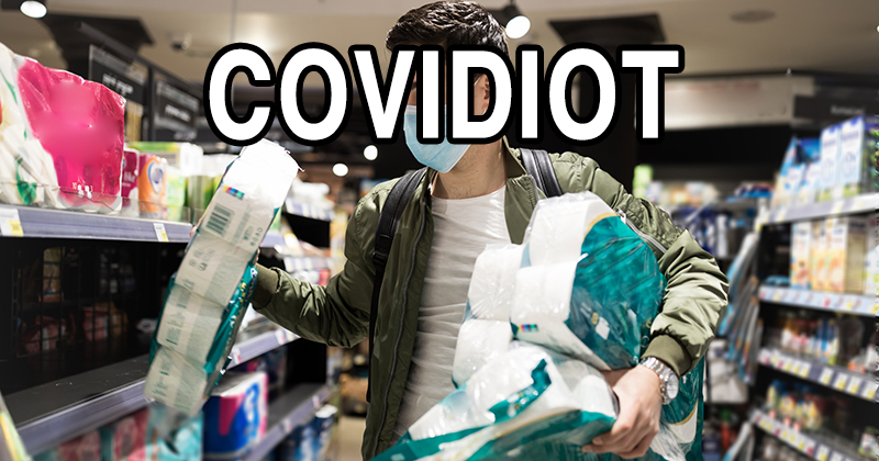 Meet The COVIDIOTS: New Word Invented For People Who Ignore Coronavirus Danger
