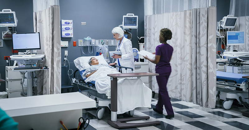 America's hospitals will be overrun with coronavirus in just EIGHT DAYS