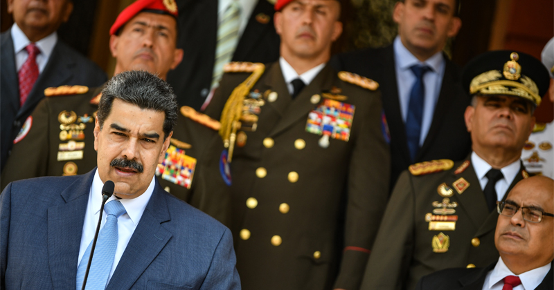 Feds Charge Maduro, Top Venezuelan Officials With Narco-Terrorism