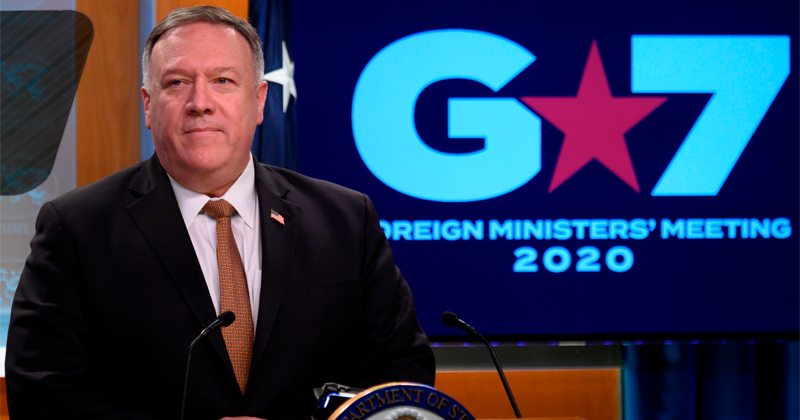 G7 Nations 'Deeply Aware of China's Disinformation Campaign' on Coronavirus - Pompeo