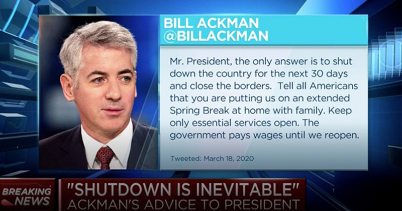 Bill Ackman Made $2.6B by Betting Against Markets After Fearmongering 'Hell is Coming' CNBC Interview