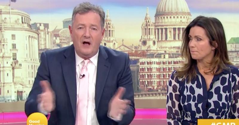Video: Piers Morgan Blasts Stupidity Of British People Still Going To Concerts, Marathons