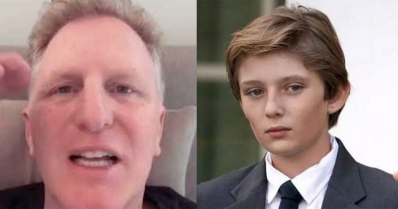 Actor Michael Rapaport calls for 'little f***ing Barron Trump' to be exposed to coronavirus