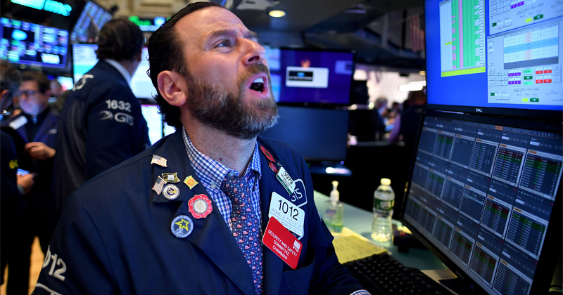Dow Posts 1,900-Plus Point Rally as Trump Declares National Emergency