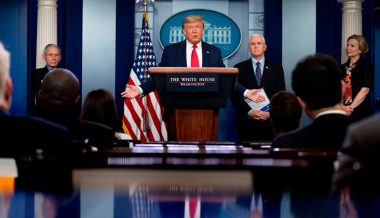 Watch: Trump, Coronavirus Task Force Hold Daily Press Briefing