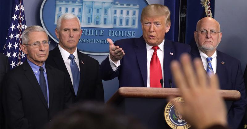 Watch: Trump Addresses Nation Over Coronavirus