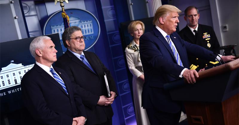 Watch: Trump, Coronavirus Task Force Speak to Press